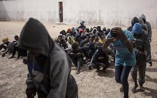 'modern slavery' in Libya