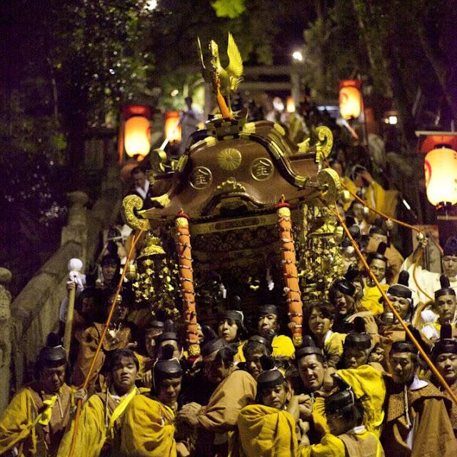 The Annual Grand Festival of Kotohiragu Shrine, Kagawa