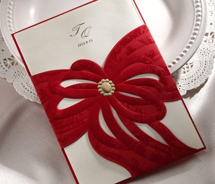 elegance of living  wedding cards designs
