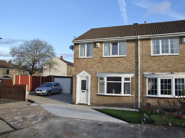 This Is Halifax Property - 3 bed semi-detached house for sale Oakdale Close, Ovenden, Halifax HX3