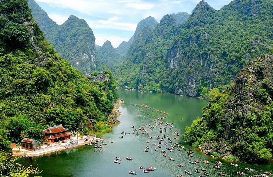 Trang An, Ninh Binh (Vietnam)