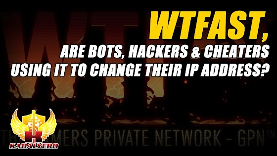 WTFast, Are Bots, Hackers And Cheaters Using It To Change Their IP Address?