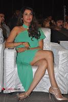 Actress Isha Koppikar Pos in Green Dress at Keshava Telugu Movie Audio Launch .COM 0022.jpg