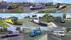 AI Traffic Pack 2.9 – mod by Jazzycat