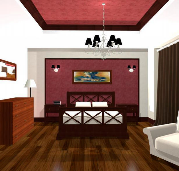 Design - interior - dormitor - rustic | Design interior dormitor case stil clasic de lux | Design interior case - preturi - Cluj - Bucuresti - Constanta - Ploiesti - Brasov - Pitesti