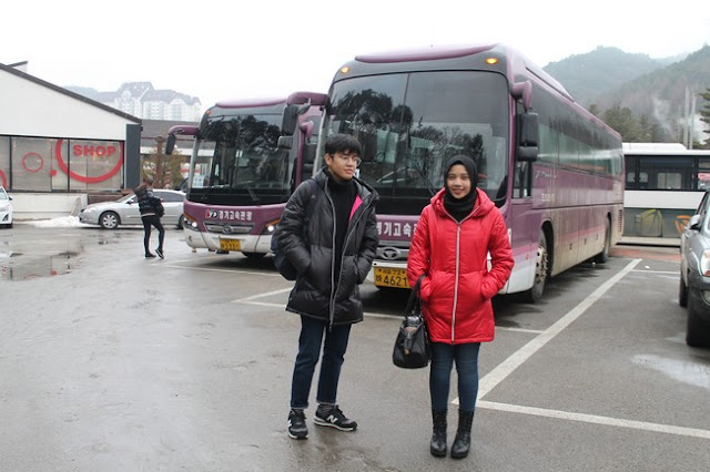 Bermain Salji Di Yongpyong Ski Resort Korea