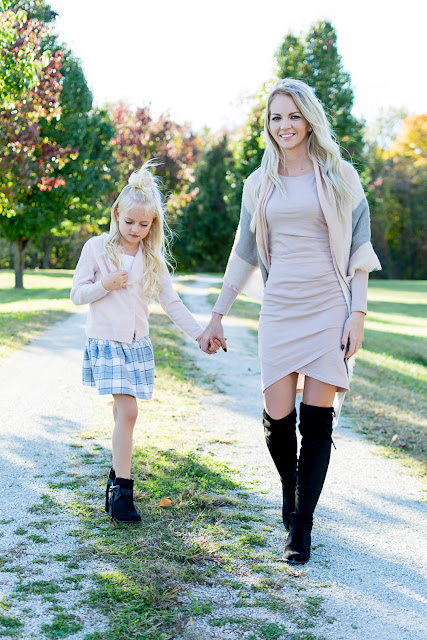mom life dress fashion idea inspiration outfit mini me mommy and me