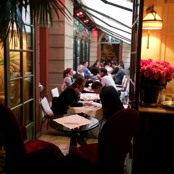The Terrace at Hotel Costes in Paris