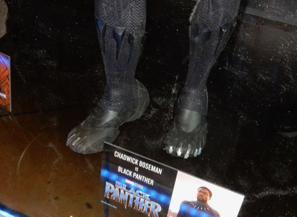 Black Panther costume feet