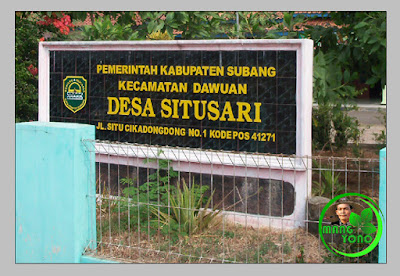 Kantor Desa situsari, kecamatan dawuan. Jl. Situ Cikadongdong No.1