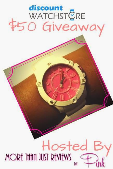 Enter the Discount Watchstore $50 Giveaway. Ends 1/3.