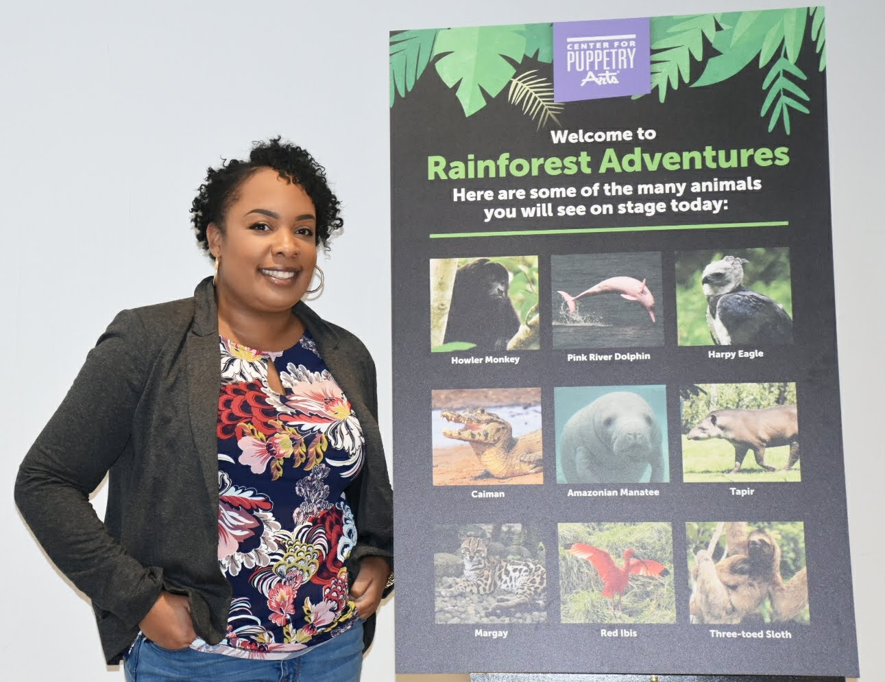 Rainforest Adventures at Center for Puppetry Arts Jan 23-Mar 4, 2018  via  www.productreviewmom.com