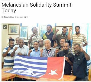 Asosiasi Vanuatu West Papua Meggalang Solidaritas Melanesia Menjelang KTT MSG di Vanuatu
