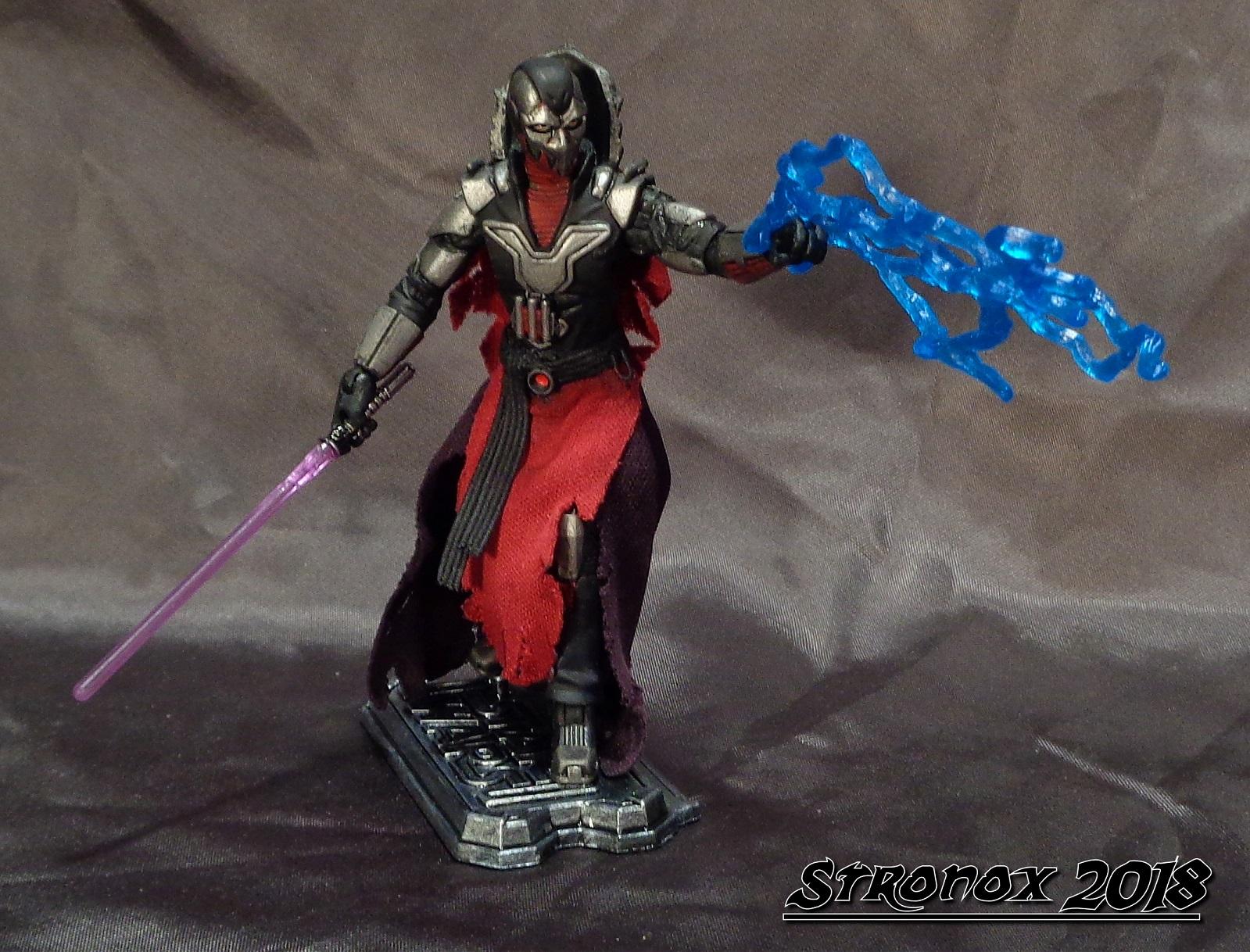 Stronox Custom Figures: Star Wars: Old Republic Sith Lord