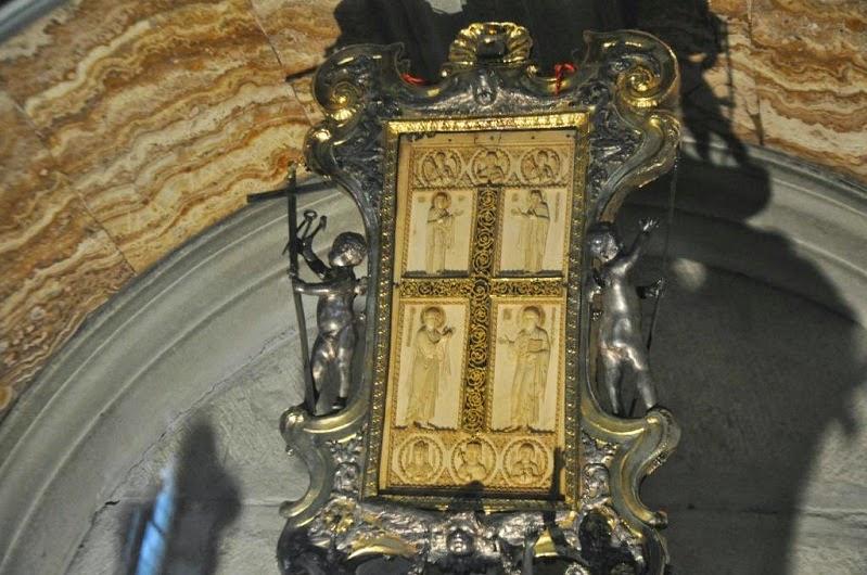 Το σταυρικόν τρόπαιον του Νικηφόρου Φωκά. http://leipsanothiki.blogspot.be/