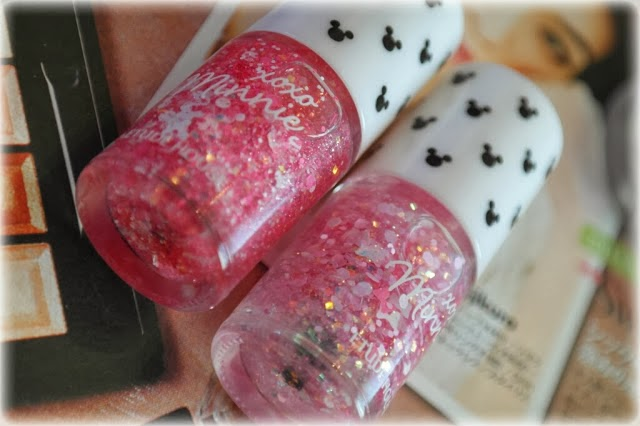 Etude House ~ Minnie Nail polish collection swatch~