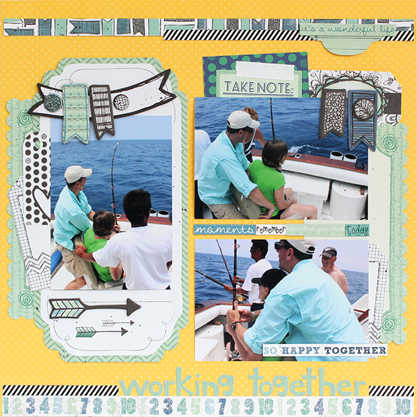 Working Together Layout by Juliana Michaels