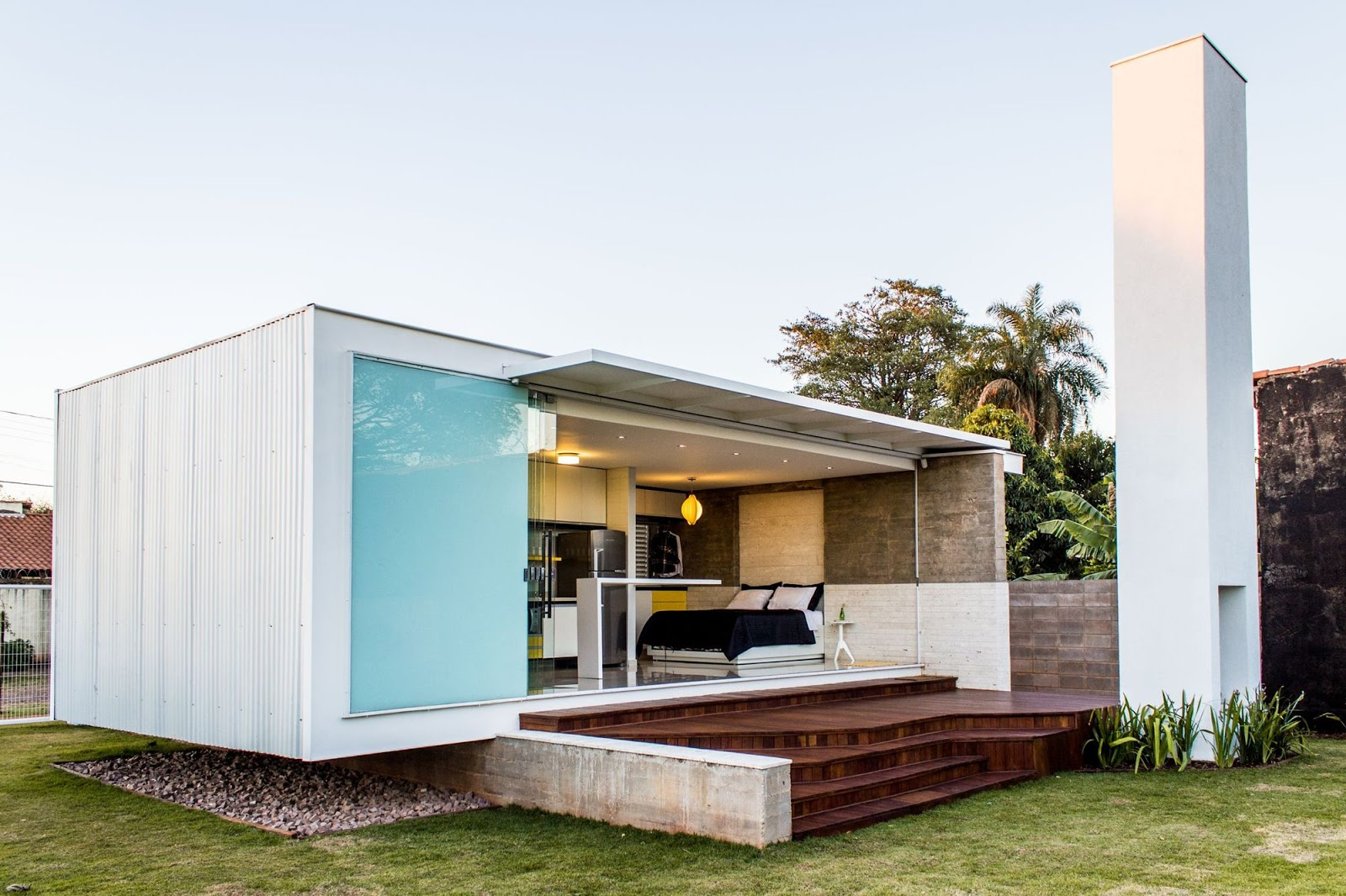 50 fotos de fachadas de casas modernas pequeas bonitas2018