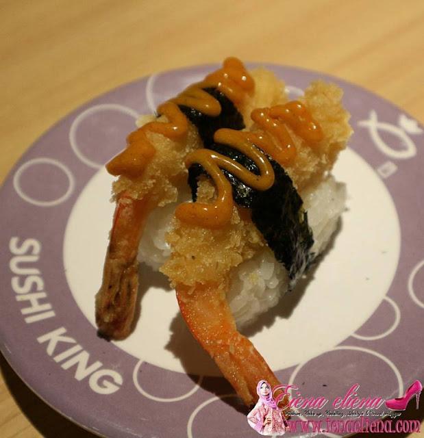 Curry Ebi Fry Nigiri antara menu baru berasaskan kari yang perlu korang cuba terutama buat peminat kari