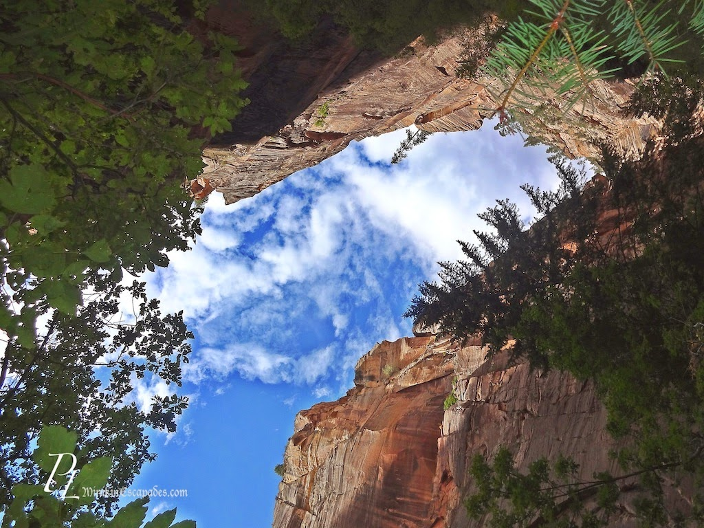 canyoning the narrows in Zion national park