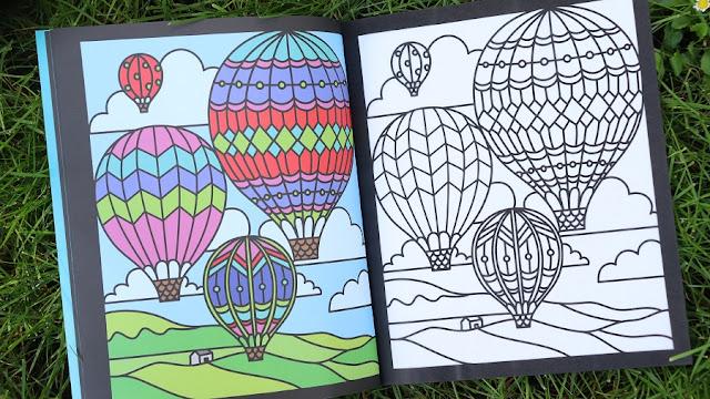 coloriage-montgolfière-maternelle