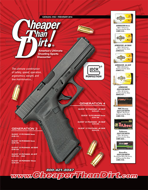 Apr 07,  · CHEAPER THAN DIRT is the lowest bunch of gougers the gun world has ever seen. The entire first 1/2 of the catalog has absolutely no prices in it at all. They tripled the prices on all of the mags they had for sale, they at least tripled the prices on most of their ammo. They took orders that they can't deliver for months to come.
