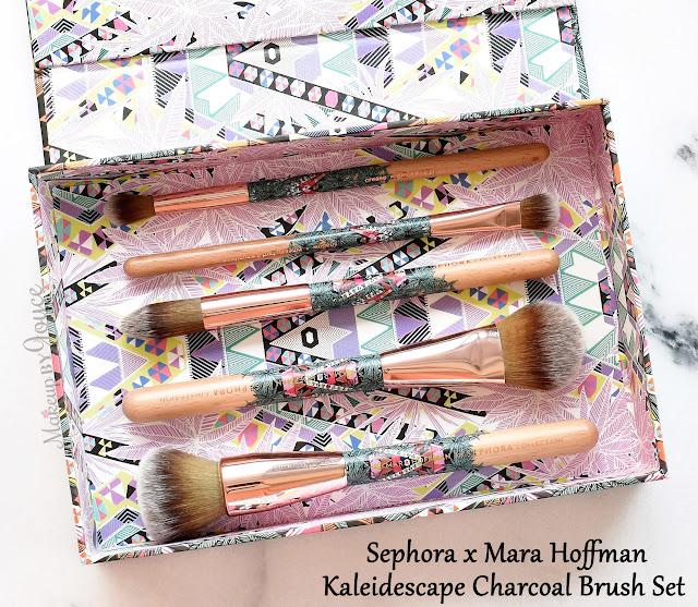 Sephora Mara Hoffman 2016 Limited Edition Brush Set Review