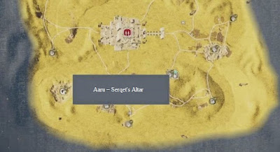 Aaru Serqet's Altar, Assassin's Creed Origins, Final DLC