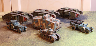 The Analogue Hobbies Painting Challenge Byronm 28mm Ww1