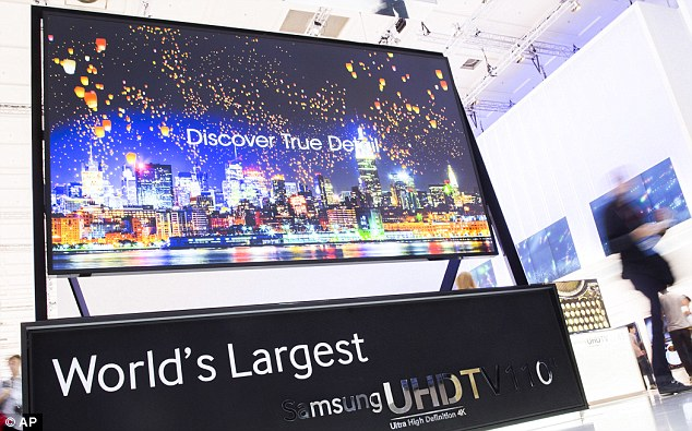 219-inch TV Launched By Samsung
