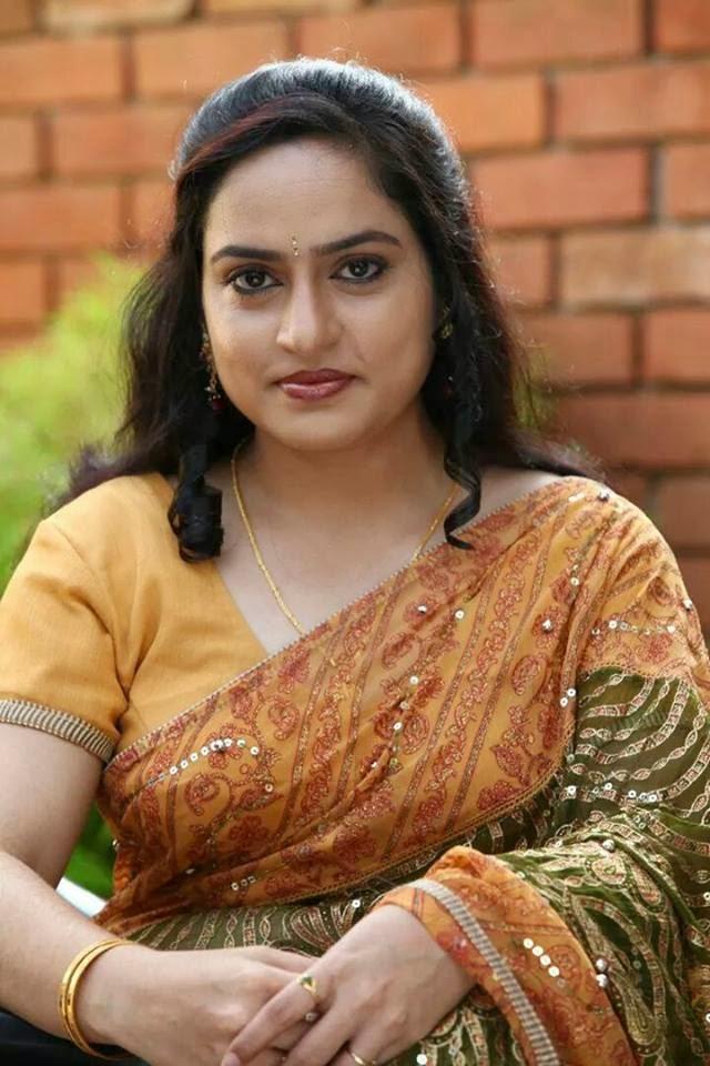 Malayalam Serial Actress Mahima Hot In Saree Photos - Sa -8709