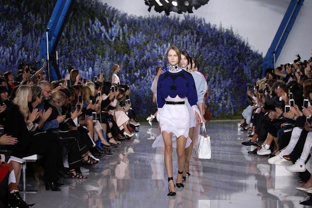 Christian Dior Collection at Paris Fashion Week