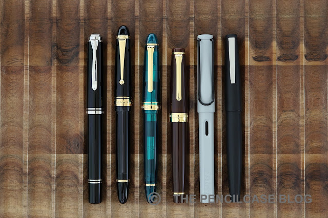 Review: Wancher x Sailor 1911L Turquoise blue fountain pen