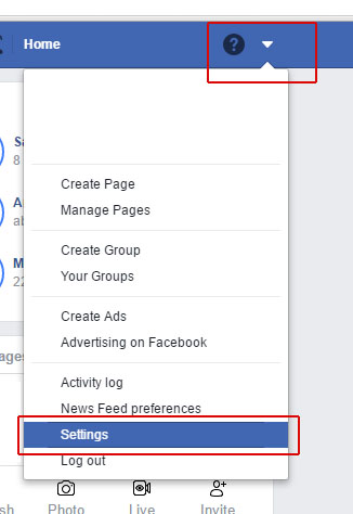how to change name in facebook profile