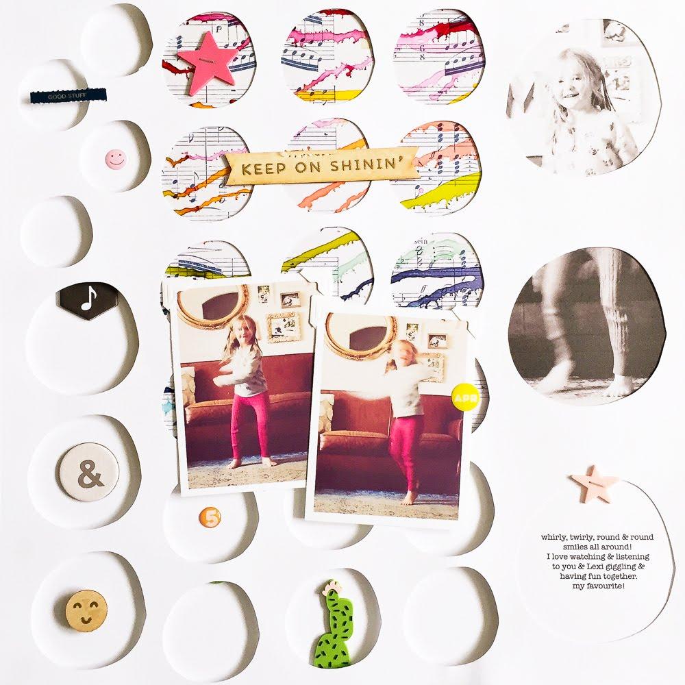 Mixed Media Tutorial mit Meagan Whelan | Janna Werner | Papiersalat ...