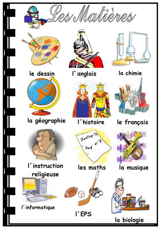 W szkole - słownictwo 5 - Francuski przy kawie