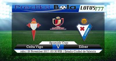 Prediksi Skor Celta de Vigo Vs Eibar 29 November 2017