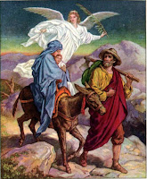 2. Joseph and Mary Escaping to Egypt