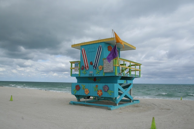 Tosca Life Guard Post at Miami Beach