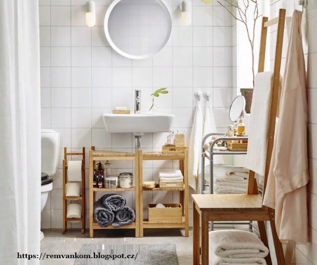 На что обратить внимание при выборе мебели для маленькой ванной комнаты