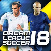 Dream League Soccer 2018 Full Mod Apk Unlimied Coins 5.04