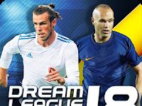 Dream League Soccer 2018 Full Mod Apk Unlimited Coins 5.061 Latest