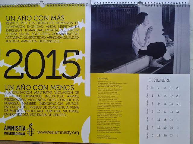 Calendario Voces de mujer 2015