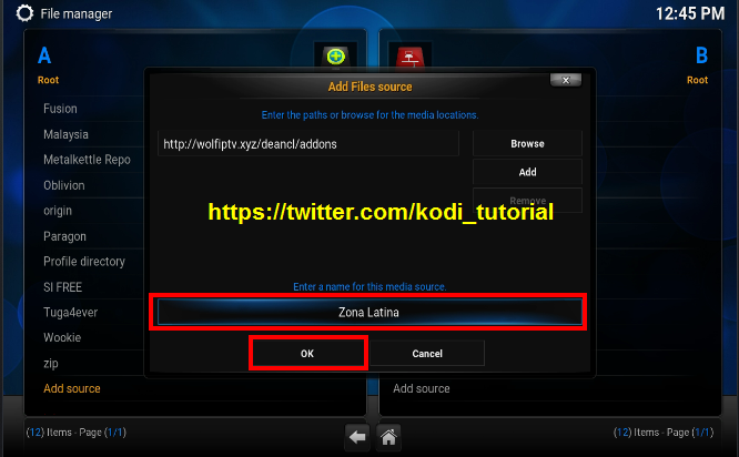 how to add kodi addons to home screen