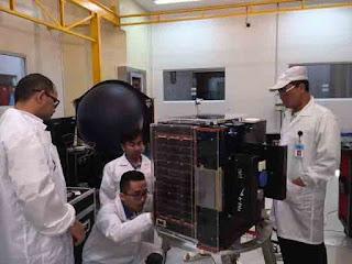 Satelit Buatan Bogor Lapan-A3/IPB Sukses Mengorbit