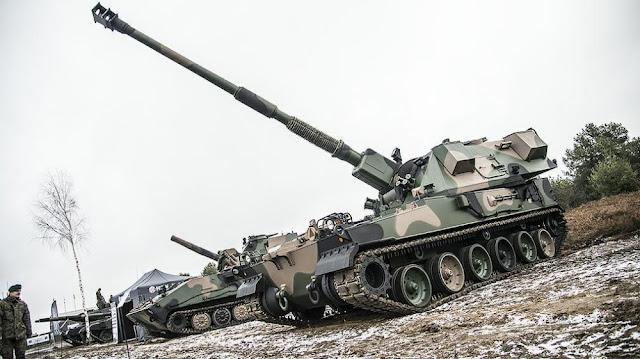 """Польские САУ """"Krab"""" перекроют Сувальский коридор"""