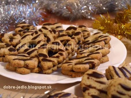 Orieškové koláčiky - recepty