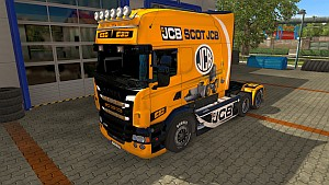 JCB skin for Scania RJL Longline
