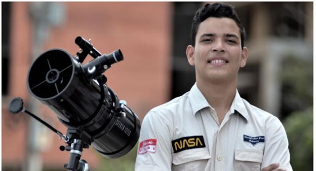 """El joven mexicano que irá a la NASA y no es tan famoso como """"Ladyfrijoles"""""""