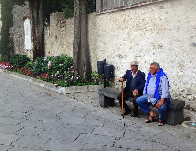 Main square in Ravello, Amalfi coast, Italy